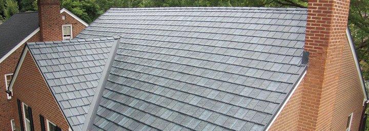 Arrowline Slate Metal Roofing