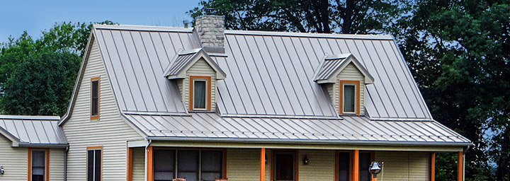 Standing seam metal roofing cleveland oh columbus oh for Tin roof styles