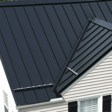 24 gauge standing seam on residential home