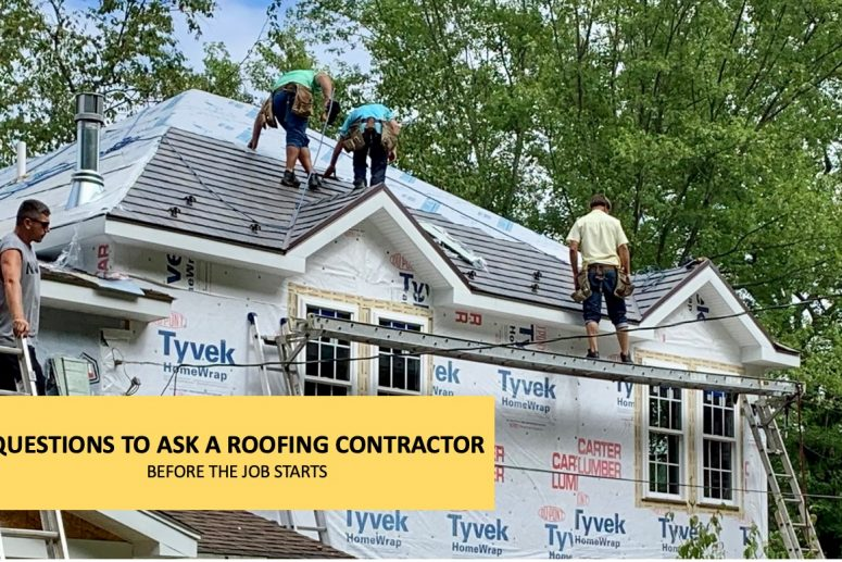 Questions to Ask a Roofing Contractor Before the Big Build