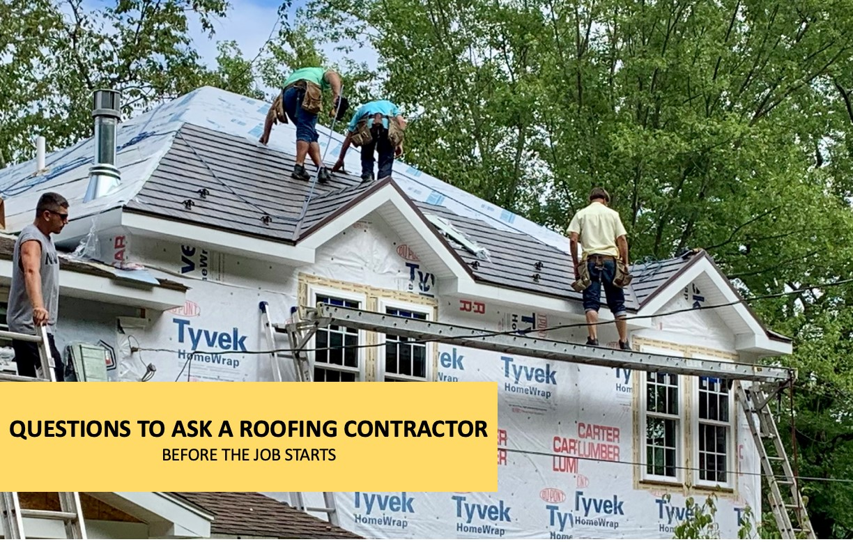 What To Ask Your Contractor: Questions To Ask A Roofing Contractor Before The Big Build