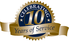 Celebrating 10 Years of Metal Roofing Excellence!