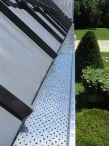 Metal Roof Gutter Systems
